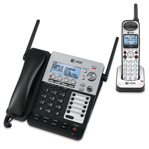 AT&T SB67138 Dect_6.0 1-Handset Landline Telephone by AT&T