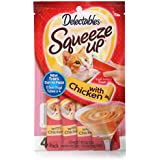 Delectables Squeeze Up Interactive Wet Cat Treats - Chicken - 32 Count