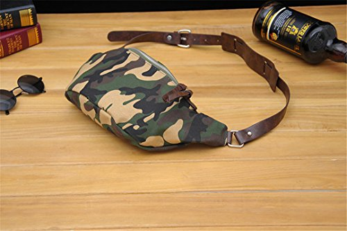 Grueso 14 x Pecho de Tela 5 Lona para Marrón cm escalada jungle Cintura Bolso de Alto táctico 44 Hombre de Bolso Bolso x Largo Ocio,camuflaje bolsas de Wewod wHXRFq