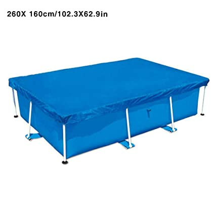 Amazon.com : kangle Rectangular Swimming Pool Cover ...