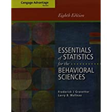 Bundle: Cengage Advantage Books: Essentials of Statistics for the Behavioral Sciences, 8th + ApliaTM, 1 term Printed Access Card by Frederick J Gravetter (2013-01-01)