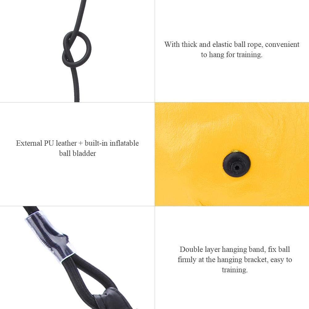 Bleu Noir /équipement de Formation de poin/çon de Rebond accrochant Gonflable de Vitesse de Boxe Tbest Boule Gonflable de Boxe