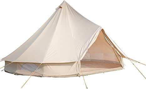 diameter of bell tent