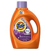 Tide Plus Febreze Freshness HE Turbo Clean Liquid Laundry Detergent, Spring Renewal Scent, 2.72 L (59 Loads)