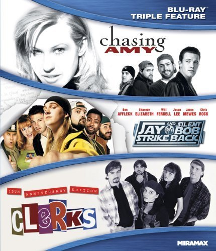 Kevin Smith Triple Feature (Clerks / Chasing Amy / Jay and Silent Bob Strike Back) [Blu-ray] by Miramax Lionsgate