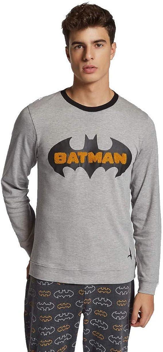GISELA Pijama de Hombre Estampado de Batman 2/1760