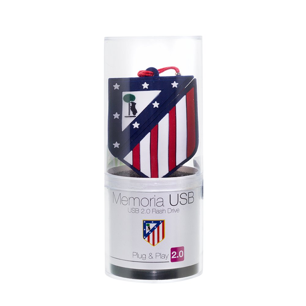 Pen Drive 8GB de Marca Atletico Madrid Producto Oficial: Amazon.es ...