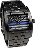 Rockwell Time AP-Police Apostle Watch, Black/Blue
