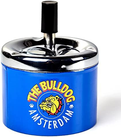Cenicero pulsador The Bulldog Amsterdam: Amazon.es: Hogar