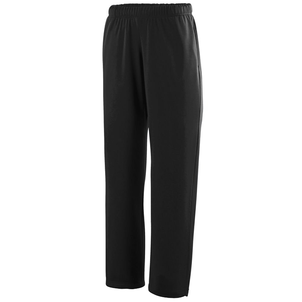 Augusta Sportswear Wicking Fleece Sweatpant XL Black by Augusta Sportswear