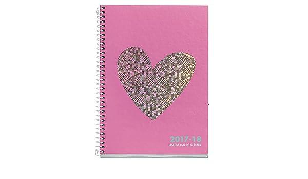 Amazon.com : Agatha Ruiz De La Prada 270008 - School Agenda ...