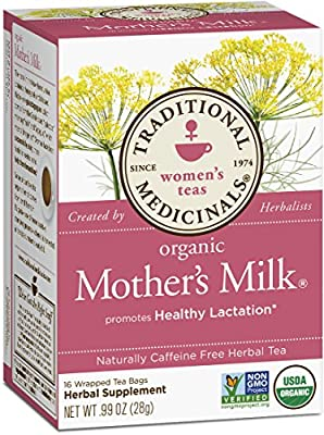 Traditional Medicinals Organic Mother's Milk Tea, 16 Tea Bags