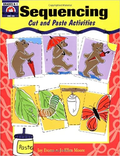 Counting Number worksheets kindergarten cut and paste worksheets free : Sequencing: Cut and Paste Activities: Evan Moor: 0023472001245 ...