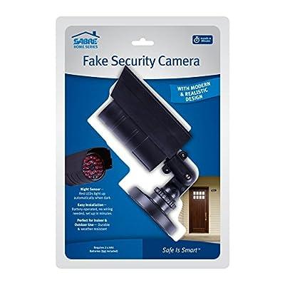 Sabre Home Security Burglar Deterrent—Fake Security Camera, Fake Security Keypad and TV Burglar Deterrent from SABRE