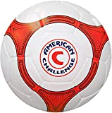 American Challenge Quina Futsal Ball (White/Orange-Navy Blue, 3)