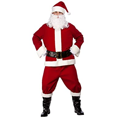 Plus Size Christmas Costumes.Professional Santa Suit Plus Size Santa Costumes Full Range Available Traditional Silly Mens Ladies Fancy Dress Outfits