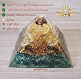 Abundance Orgone Pyramid 3 layers of Natural stones