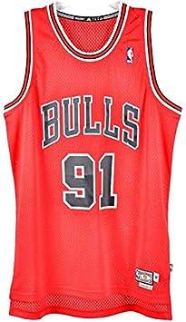 adidas Camiseta Baloncesto NBA Dennis Rodman Bulls Chicago ...