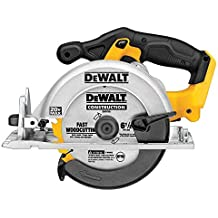 "DEWALT DCS391BR 20V MAX 6-1/2"" Circular Saw Tool Only (Renewed)"