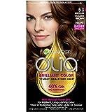 golden Garnier Olia Hair Color, 5.3 Medium Golden Brown, Ammonia Free Brown Hair Dye (Packaging May Vary)