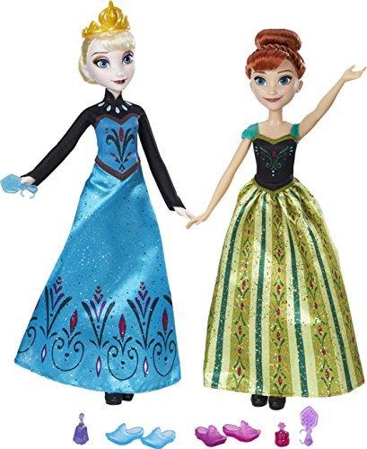 Disney Frozen Anna & Elsa Sister's Coronation Day Celebration Doll Set