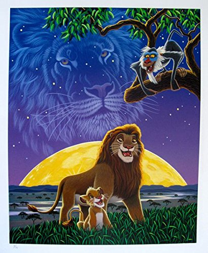 Amazoncom Artwork By Disney Lion King Limited Edition