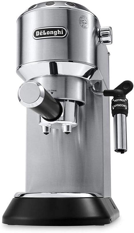 DeLonghi EC 695.M - Cafetera (Independiente, Cafetera combinada, 1 L, De café molido, 1450 W, Acero inoxidable): Amazon.es: Hogar