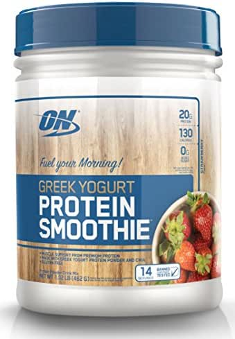 Protein & Meal Replacement: Optimum Nutrition Greek Yogurt Protein Smoothie