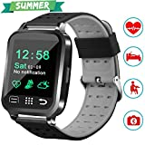 """Best Health Tracker Watches - 1.54"""" Smart Watch Health Fitness Tracker with Blood Review"""