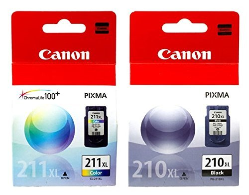 Canon PG 210XL CL 211XL Cartridge Pack Black product image