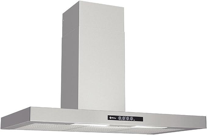 Balay 3BC892M Campana extractora de pared, 60 W, Acero inoxidable, 3 Velocidades: Amazon.es: Grandes electrodomésticos