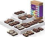 Fairytale Brownies Birthday Sprite 36 Gourmet Chocolate Food Gift Basket - 3 Inch x 1.5 Inch Snack-Size Brownies - 36 Pieces - Item CB236
