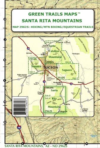 Amazon.com: Santa Rita Mountains (Hiking / Mountain Biking ...