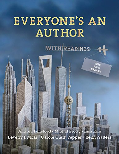 Everyone's an Author with 2016 MLA Update: with Readings (Second Edition) cover