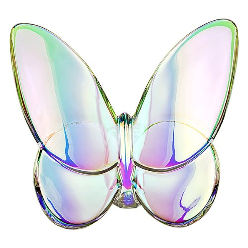 Baccarat Clear Iridescent Lucky Butterfly 2601482 by Baccarat