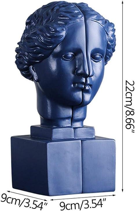 CIDCIJN Estatuillas,Estatuas,Esculturas,Nórdico Azul Venus