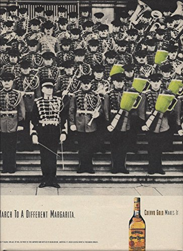 MAGAZINE AD For 1990 Jose Cuervo Tequila March To A Different Margarita