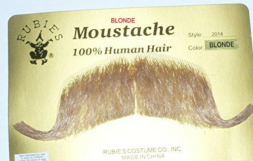 2014 (Blonde) Colonel Major Handlebar (Handlebar Mustache With Beard)