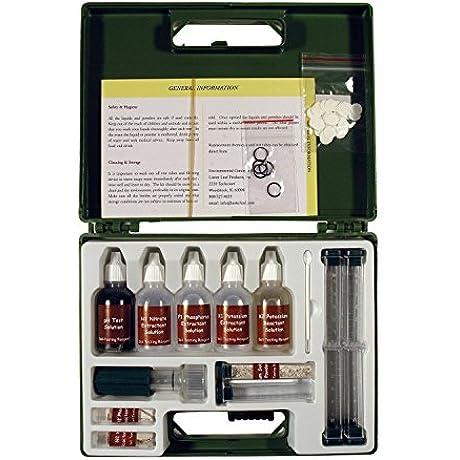 Rapitest Premium Soil Test Kit Lawn Flower Plant Test Garden Tester Ph Npk 80 Test Kit 1663