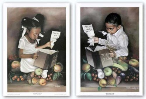 """You Are What You Eat Set by Edwin Lester 14""""x20"""" Art Print Poster by Bruce Teleky from Bruce Teleky"""