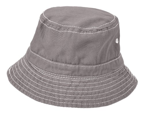 City Thread Unisex Baby Solid Wharf Hat Bucket Hat for Sun Protection SPF Beach Summer - Road - S