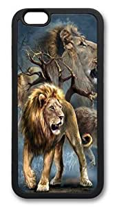 For Iphone 5/5S Case Cover -Lion Collage 2 Hard shell Custom For Iphone 5/5S Case Cover Black