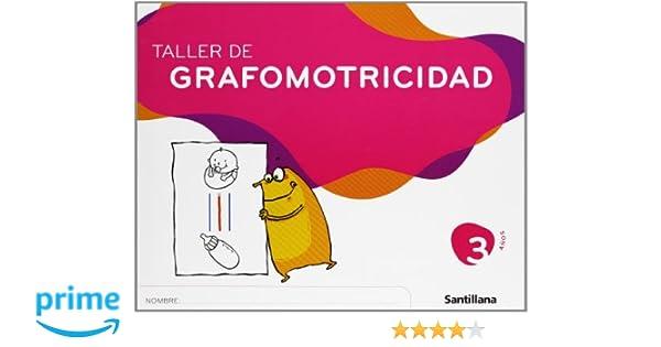 Taller de Grafomotricidad 3 Años Santillana - 9788429449129 ...