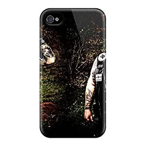 New Fashion Premium Tpu Case Cover For Iphone 4/4s - Mayhem Band