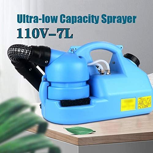 屋内屋外7L容量110Vのための適切な消毒 - エレクトリックULV噴霧器噴霧器 - ポータブル超低アトマイザーインテリジェントスプレー