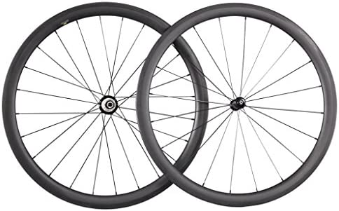 ICAN 40 mm Clincher Tubeless Ready borde 27 mm Anchura de carbono ...
