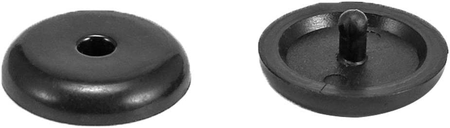 kaakaeu Lot de 10 Boutons universels en Plastique pour Ceinture de s/écurit/é