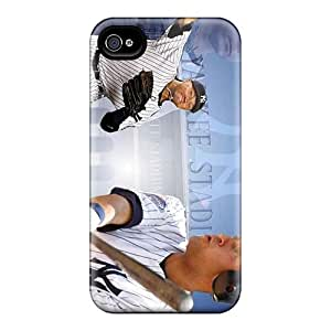 Shock Absorbent Hard Phone Cover For Iphone 6plus (HGX9981rZSv) Customized Colorful New York Yankees Pictures