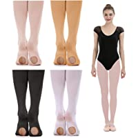 d99735fd65178 iMucci Ballet Dance Tights - Velet Convertible Ballerina Dancing Stockings