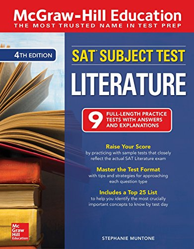 McGraw-Hill Education SAT Subject Test Literature, Fourth Edition